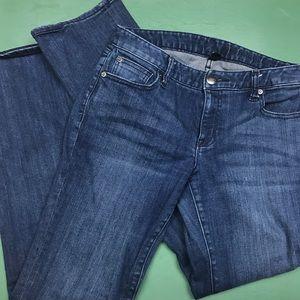 Gap Premium Denim Jeans Curvy Straight size 6/28R